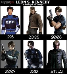 Leon S. Kennedy-Resident Evil timeline- Leon is my fave <3