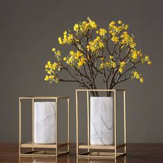 European Alloy Marble Combination Vase Decoration Home Table Decoration Flower Arranger - European Alloy Marble Combination Vase Decoration Home Table Decoration Flower Arranger - Home Decor Vases, House Plants Decor, Plant Decor, Decoration Plante, Decoration Table, Deco Furniture, Furniture Design, Bedroom Decor, Wall Decor