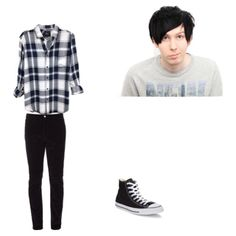 A fashion look from May 2017 featuring mens rayon shirts, mens pants and mens black high top sneakers. Browse and shop related looks. Phil Lester, Youtubers, Shoe Bag, Polyvore, Collection, Design, Women, Woman