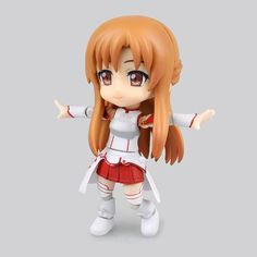 "18.99$  Buy here - http://alib2f.shopchina.info/go.php?t=32727552691 - ""Free Shipping Cute 5"""" Nendoroid Sword Art Online Anime Asuna Boxed 12cm PVC Action Figure Collection Model Doll Cu-poche 017"" 18.99$ #buyonlinewebsite"