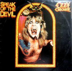 Ozzy Osbourne – Speak Of The Devil  Álbum ao vivo lançado por Ozzy Osbourne em 1982. Brad Gillis tocou para Ozzy nesse álbum, assumindo a guitarra depois do falecimento de Randy Rhoads. Era para ser um álbum com canções de Ozzy da carreira solo mas acabou sendo de covers do Black Sabbath em respeito a Randy Rhoads.