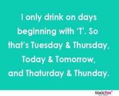 Thaturday and Thunday. #ThirstyThursdays