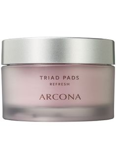 Arcona Triad Pads gently whisk away dirt, oil, and makeup without stripping skin....