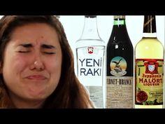 Americans Taste International Alcohols