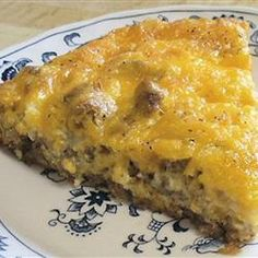 Castle hamburger Pie White Castle hamburger Pie Recipe and the best news is it is low carb!White Castle hamburger Pie Recipe and the best news is it is low carb! Quiches, Hamburger Pie Recipes, Meat Recipes, Bisquick Hamburger Pie, Hamburger Dishes, Hamburger Casserole, Casserole Recipes, Drink Recipes, White Castle Hamburgers