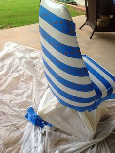 spray paint our old vinyl chair