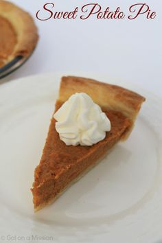 Sweet Potato Pie - Easy Thanksgiving Dessert and an easy recipe!