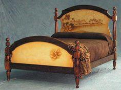 work of art - hawaiian style bed at hawaiianfurniture.com
