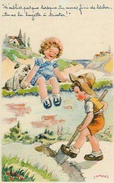 Carte enfant - Humour de Janser                                                                                                                                                                                 Plus