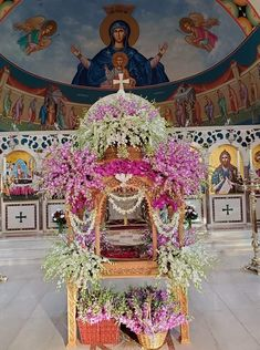 Orthodox Easter, Jesus Pictures, Holy Week, Holi, Floral Arrangements, Greek, Fair Grounds, Flowers, Ideas