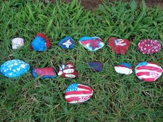 my blessed life: Fun with 4th of July Crafts: Part 2