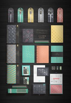 Kortney Collection Packaging by Franklin Mill on Packaging of the World - Creative Package Design Gallery