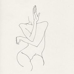Woman dancing with her hands - Etude from 2005 #fredericforest