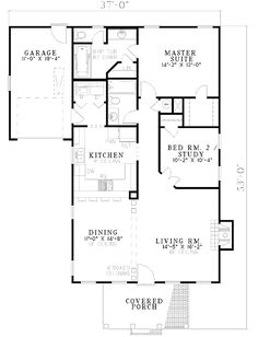 Charming Southern Home Design - 59083ND   1st Floor Master Suite, CAD Available, Narrow Lot, PDF, Southern, Traditional   Architectural Designs