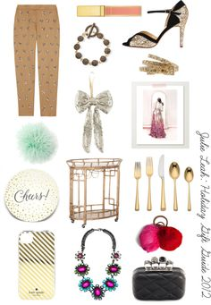 Julie Leah Holiday 2012 Gift Guide: Glitz & Glam
