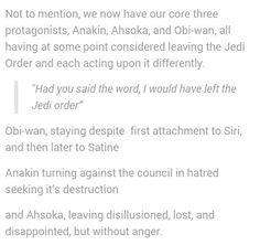 The Clone Wars trio's most difficult moments with the Jedi Order...Siri Tachi isn't canon but still.