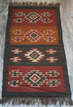Vintage Turkish kilim Rug Area Rug Carpet 20%Wool 80%Jute Kilim Rug 2.5x4 Feet  #Turkish