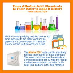 Does Alkalux Add Chemicals to Their Water to Make It Better? | Visit our official website for more info: http://www.alkalux.com/
