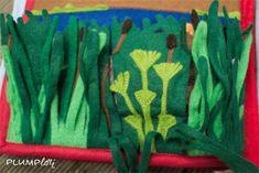 Quietbook - Mose im Körbchen Montessori, Painting, Art, Kids Bible, Art Background, Painting Art, Kunst, Paintings, Performing Arts
