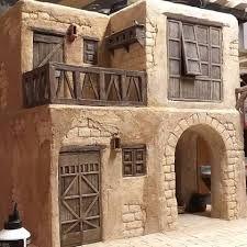 Christmas Crib Ideas, Christmas Paper Crafts, Christmas Village Display, Christmas Nativity Scene, Minimalist House Design, Minimalist Home, Diy Crib, Mediterranean Style Homes, Desert Homes