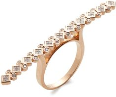 Diamond Bar Ring on shopstyle.com
