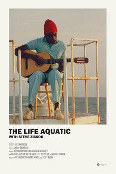 The Life Aquatic with Steve Zissou alternative movie poster