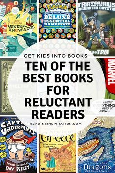 Find out what features to look for in books to motivate reluctant readers. And check out recommendations of the best books for reluctant readers here! Reluctant Readers, Struggling Readers, 4th Grade Reading, Kids Reading, Reading Lists, Books For Boys, Childrens Books, Thing 1, Book Suggestions