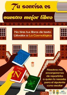 Recogida de libros en La Palma