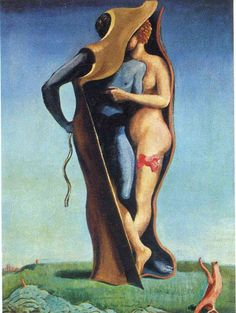 'lang leben liebe', 1923 von Max Ernst (1891-1976, Germany)