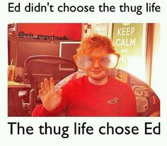 Thug life seriously how do you look at this pic and not love him