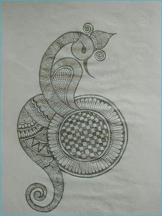 Pencil Henna pattern 02 done by beena Patel - Pencil Henna pattern 02 done by beena Patel - Peacock Mehndi Designs, Latest Arabic Mehndi Designs, Indian Mehndi Designs, Legs Mehndi Design, Full Hand Mehndi Designs, Henna Art Designs, Mehndi Designs 2018, Mehndi Designs For Beginners, Modern Mehndi Designs