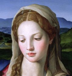 Mary Painting by Agnolo Bronzino - Mary Fine Art Prints and Posters for Sale