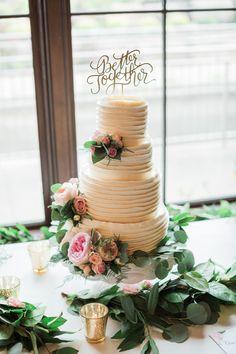 Photography: Jesse Rashotte Photography - jesserashotte.com Floral Design: Living Fresh - http://livingfresh.ca Cake: The Cake Tutor - http://www.thecaketutor.com/   Read More on SMP: http://stylemepretty.com/vault/gallery/39882