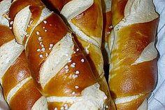Laugengebäck Pretzel Bites, Bread Baking, Allrecipes, Bread Recipes, French Toast, Food Porn, Food And Drink, Tasty, Sweets