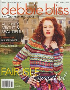 Debbie Bliss Knitting Magazine Fall - Winter 2010