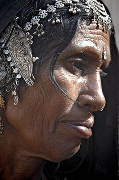 India | Semi nomadic woman from Rajasthan | ©Mirjam Letsch