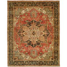 <strong>Shalom Brothers</strong> Jules Serapi Terracotta Area Rug