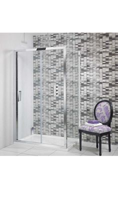 Simpsons Elite Sliding Shower Door 1700mm U0026 Optional Side Panel