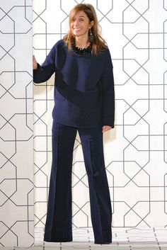 Clean lines and settle colours in clothes are my favorite. In the picture: Consuelo Castiglioni of Marni, style.com.