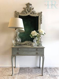 A gallery of projects that Taylored Revival has undertaken for clients using Chalk Paint™ including many before and after photos. Gilding Wax, Drawer Table, Using Chalk Paint, Dark Wax, Paint Furniture, Texture Painting, Entryway Tables, Hand Painted, Interior Design