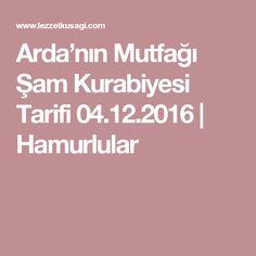 Arda'nın Mutfağı Şam Kurabiyesi Tarifi 04.12.2016 | Hamurlular Beautiful Cakes, Food And Drink, Cookies, Recipes, Drinks, Crack Crackers, Drinking, Beverages, Biscuits