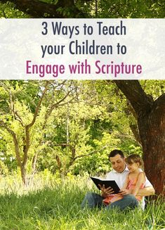 Teach your children to engage and fall in love with Scripture with these 3 tips! Help teach your children to engage with Scripture. Bible Activities For Kids, Bible Study For Kids, Bible Lessons For Kids, Scriptures For Kids, Scripture Memorization, Christian Kids, Help Teaching, Good Parenting, Childhood Education