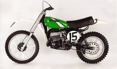 1976 Kawasaki SR125 - I had my own dirt bike! Was too scared of falling to get crazy on it!!