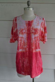 Rolled, Tie Dye Tee Shirt: DIY