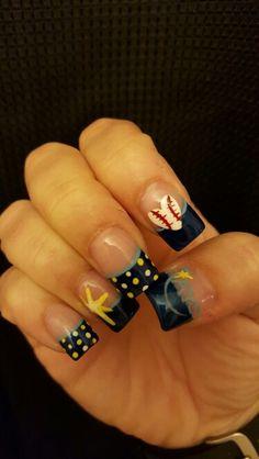 Tampa Bay Rays Nails
