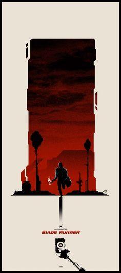 Blade Runner poster by Matt Ferguson