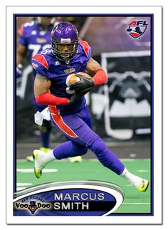 New Orleans VooDoo WR Marcus Smith
