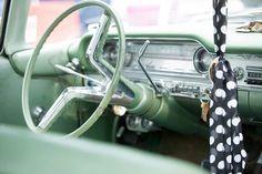1960 oldsmobile steering wheel dash