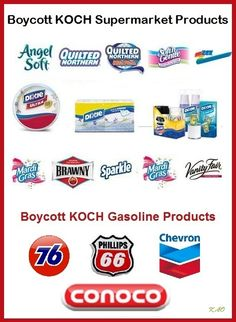 An easy way to help end funding for hate? Avoid Koch products at the supermarket.