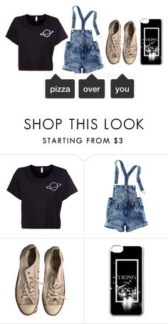 """""""nothing like the rain"""" by punkspacemac ❤ liked on Polyvore featuring H&M and Converse"""